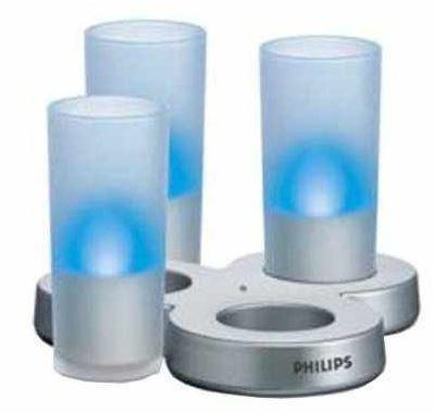 Philips Imageo Leuchten   3er Set in blau für 18,87€ inkl. Versand