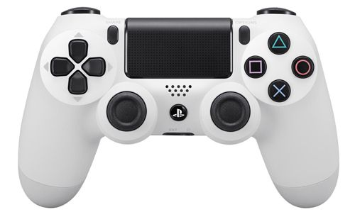 PlayStation 4 Dualshock Wireless Controller in Weiß für 49,99€