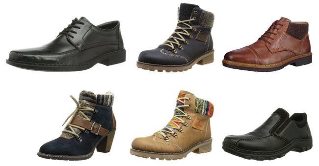 Günstige Rieker Damen u. Herren Schuhe bei Amazon   z.B. Rieker 19052 Herren Slipper ab 24,98€
