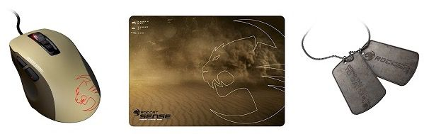 Roccat Kone Pure Gaming Maus + Roccat Sense Mauspad + weiterem Zubehör für 49,99€
