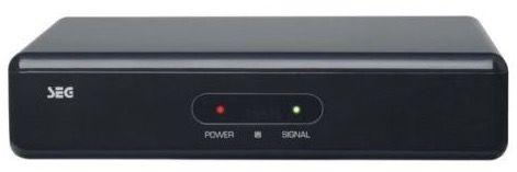 SEG SB 1250 HD Sat Receiver mit HDMI und USB für 22€