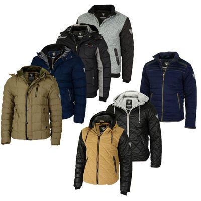 SG Herren Winterjacken   verschiedene Modelle mit Größen von S bis 2XL für je 29,90€