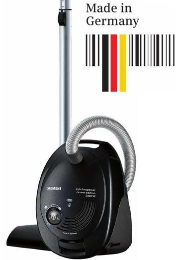 Siemens VS06G2410 synchropower power edition   Bodenstaubsauger ( 2400 Watt + Zubehör) für 89,99€