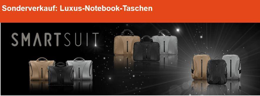 Smartsuit Notebook Taschen für 19,99€ beim digitalo Sonderverkauf
