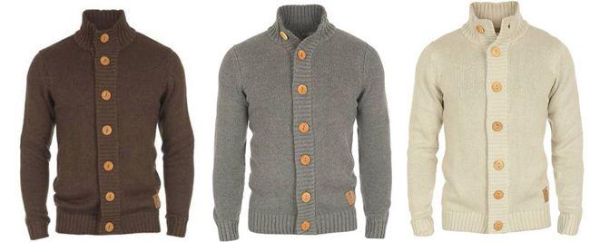 Solid Cardigan Pete Herren Strickjacke in 3 verschiedenen Farben für je 29,95€