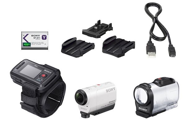 Sony HDR AZ1R Action Cam mit WLAN und NFC für 229€