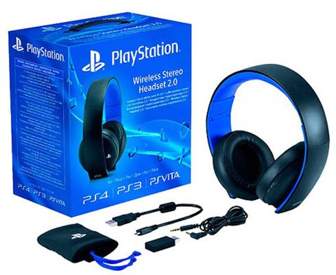 Sony Wireless Stereo Headset 2.0 Playstation 4 Wireless Stereo Headset für 61,08€ (statt 78€)
