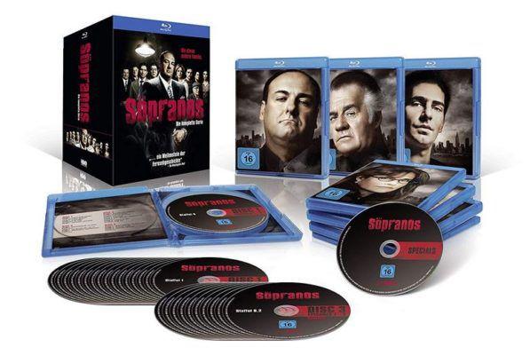 Sopranos   Die komplette Serie auf Blu ray für 59,97€ [Prime] (statt 75€)