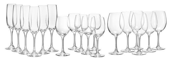 Spiegelau Soiree Wein  und Sektglas Set 18 teilig für 30,94€