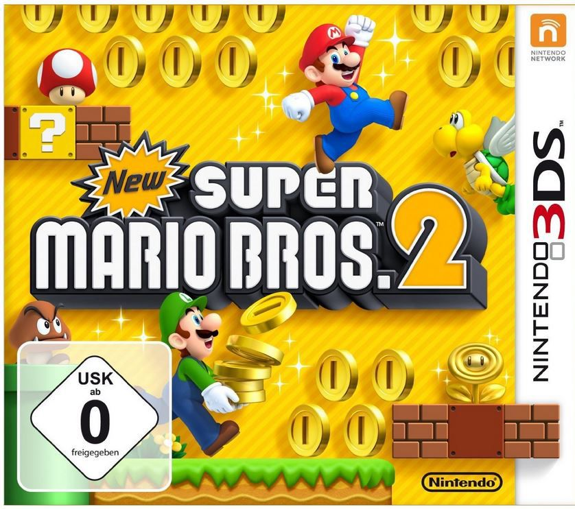 Super Mario Bros. New Super Mario Bros. 2   Download Game   Nintendo 3DS für 22,90€