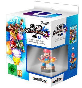 Super Smash Bros Wii U Super Smash Bros. für Wii U + amiibo Figur für 39,99€