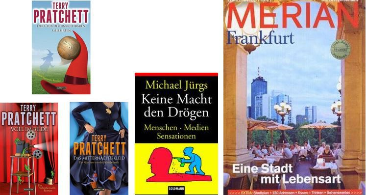 Terrashop Terrashop mit Büchern ab 1€   Merian Reiseführer ab 2,99€ inkl. Versand ....