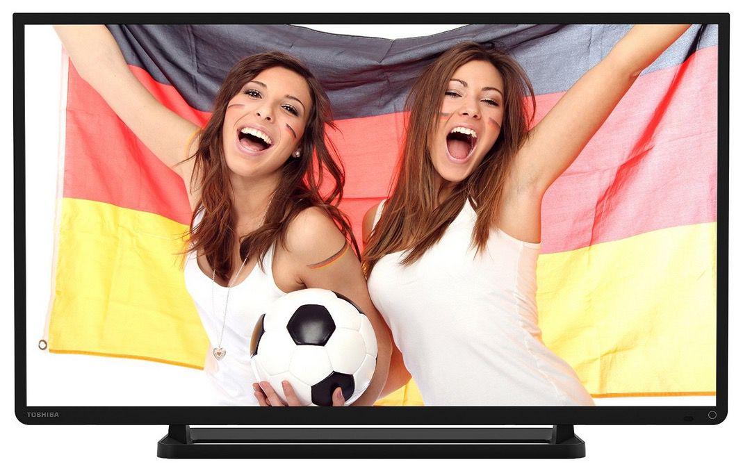 Toshiba 32L2441DG   32 Zoll Full HD LED Fernseher mit Triple Tuner und USB Recording für 229€