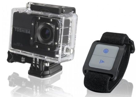 Toshiba Camileo X Sports Toshiba Camileo X Sports Full HD Action Cam mit WLAN für 119€