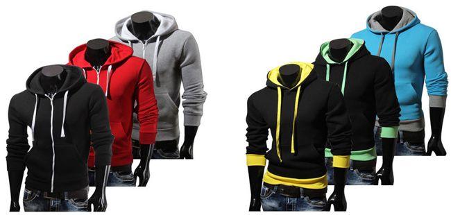 Van Hill Zipper, Hoodies und Sweatshirts in verschiedenen Farben für je 14,95€