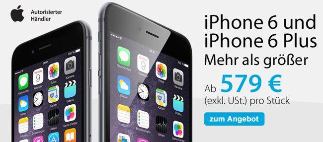 Viking TOP! 15% Rabatt auf Apple Geräte bei Viking   z.B. iPhone 6 64GB statt 779€ für 676,99€