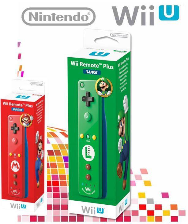 Nintendo Wii U Remote Plus in der kultigen Luigi Edition für je nur 33€