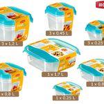 Curver Set Frischhaltedosen Fresh & Go für 20,90€ – wieder da!