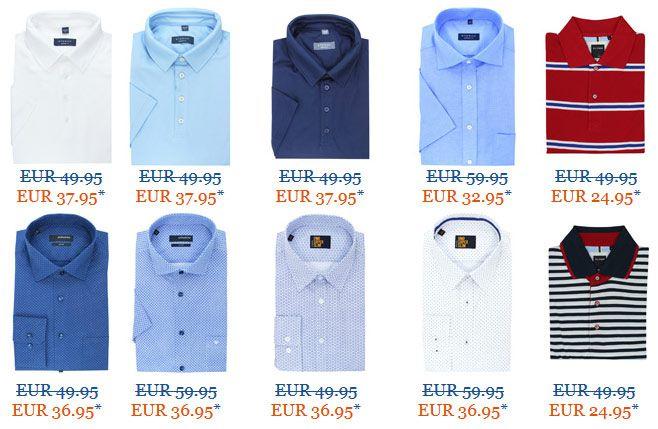 hemden.de  Hemden.de Aktion: 20% Gutschein auf ALLES + Markenhemden & Polos unter 20€