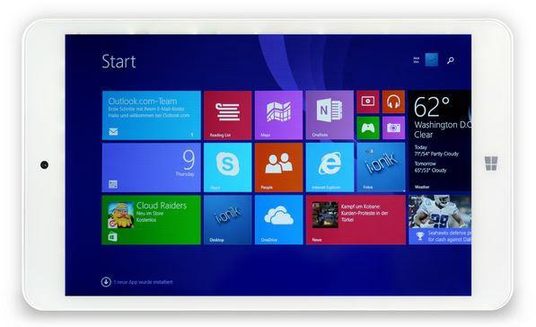i.onik TW 8 Windows Pad   8 Zoll mit Office 365 für 51,99€ (statt 102€)