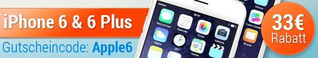 TOP! iPhone 6 ab 536€ oder iPhone 6 Plus ab 596€ als Gebrauchtware