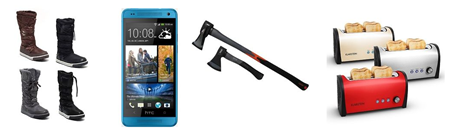 eBay WOW Angebote in der Übersicht, z.B. HTC One Mini Smartphone blau für 249€