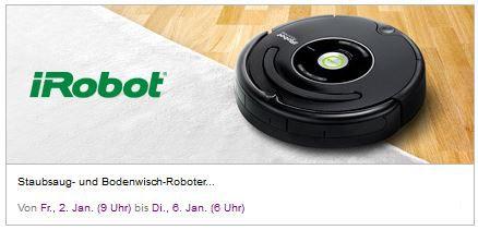 iRobot Sale ab sofort bei Vente Privee mit guten Rabatten
