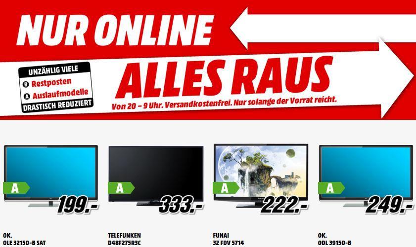 HTC Desire 510 meridian grey für 99€   und mehr gute MediaMarkt Angebote: Alles Muss Raus