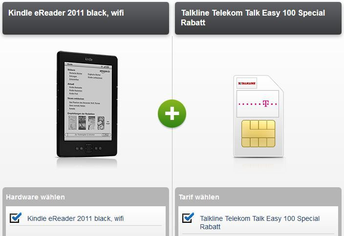 talk easy Telekom Talkline Talk Easy 100 Vertrag + Kindle (2011) dank Auszahlung 2,90€ monatl. Kosten   Update