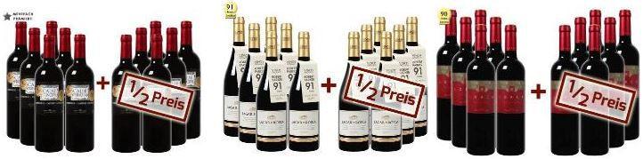 weinvorteil 12 Flaschen Val Conde by Valtier   Utiel Requena DO Reserva für 51,54€ in der genialen Weinvorteil Rausverkaufs Aktion   Update