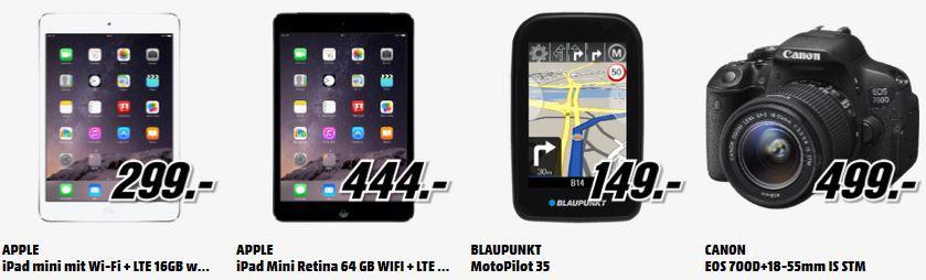 Apple iPad Air 128GB WiFi+4G für 555€   und 180 mehr gute MediaMarkt Angebote: Alles Muss Raus