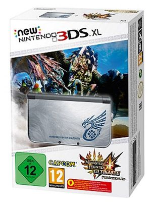 Nintendo 3DS XL (neues Modell) + Monster Hunter 4 Ultimate ab 224€