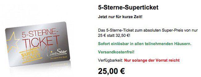 5-Sterne-Superticket