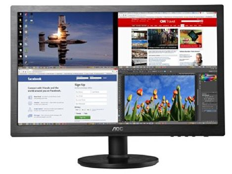 Preisfehler? AOC e2460Sd   24 Zoll Full HD WLED Monitor für 53,33€