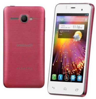 Alcatel 6010D One Touch Star Smartphone für 59,99€   4 Zoll, Pink, Dual Sim, 4GB