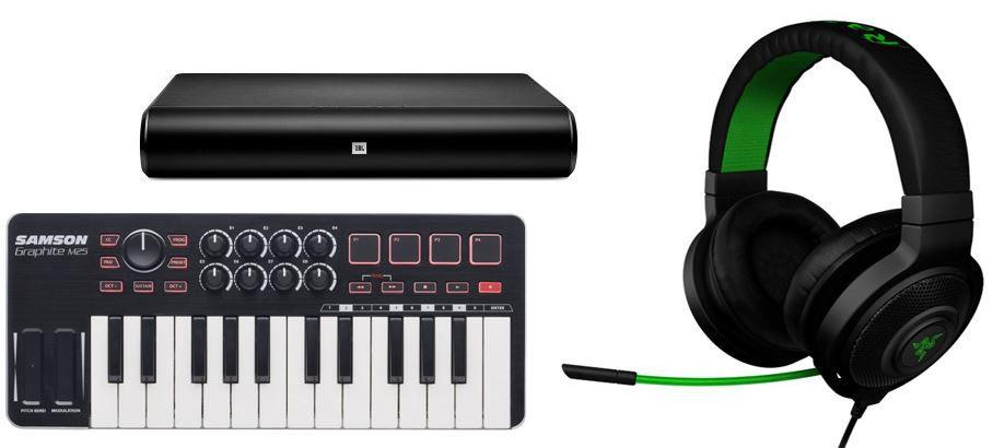 Razer Kraken Pro Gaming Headset statt 73€ für 49€   bei den 27 Amazon Blitzangeboten ab 18Uhr