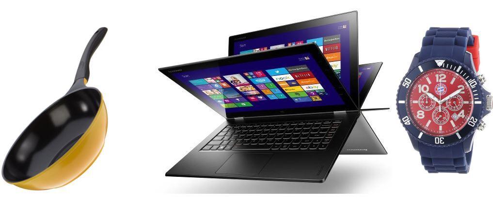 Lenovo Yoga 2 Pro   13,3 Zoll QHD IPS Convertible Ultrabook   bei den 64 Amazon Blitzangeboten bis 11Uhr