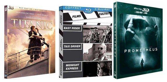 Amazon Blu ray Frankreich 50€ Rabatt beim Kauf von Blu rays im Wert von 100€ bei Amazon.fr   Update
