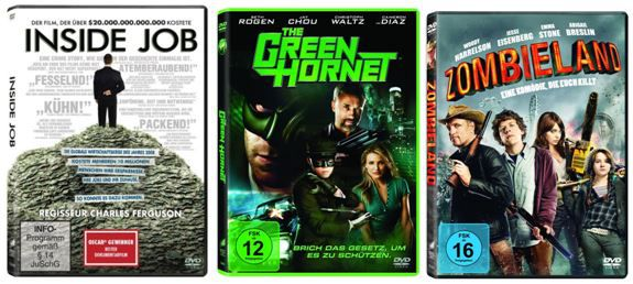Amazon DVD und Blurays