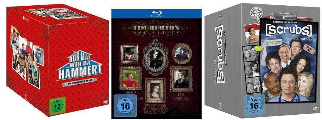 Box Sets bis  40%  und mehr Amazon DVD oder Blu ray Angebote   Update