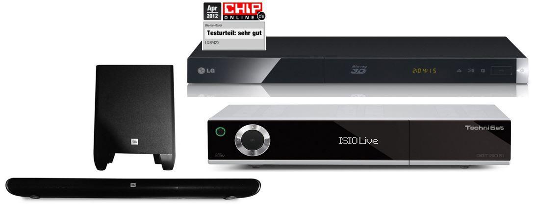 Amazon heute2 TechniSat Digit ISIO S1 digitaler HDTV Satellitenreceiver für 176€   bei den 47 Amazon Blitzangeboten ab 18Uhr