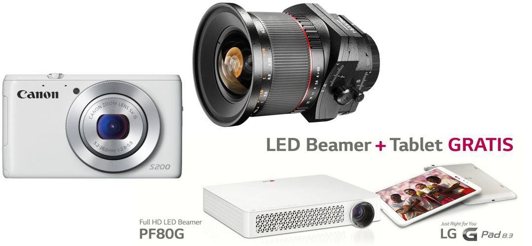 LG PF80G LED Projektor + G Pad 8.3 statt 1.235€ für 949,99€   bei den 24 Amazon Blitzangeboten ab 18Uhr
