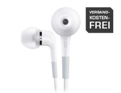 Apple In Ear Apple In Ear Kopfhörer mit Fernbedienung und Mikrofon für 49€