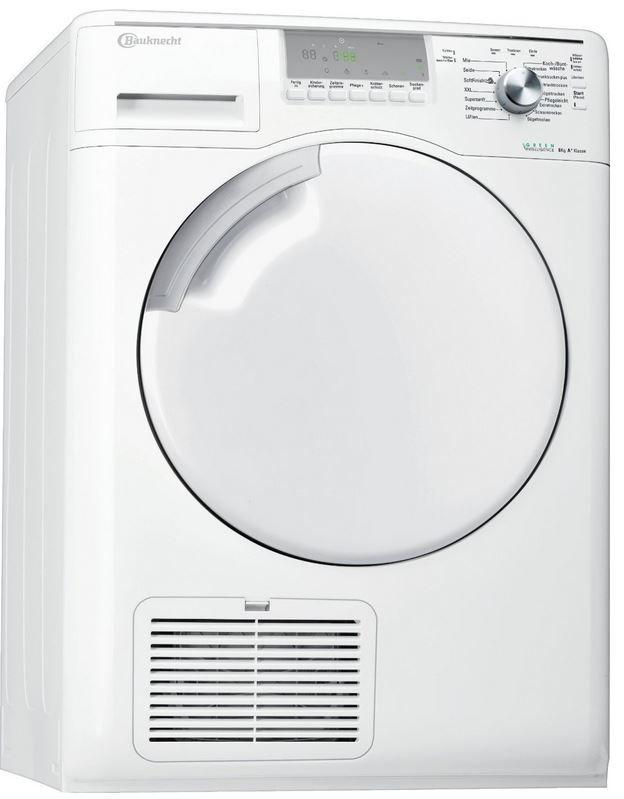 Bauknecht TK ECOSTAR 8A+ Wärmepumpentrockner mit 8kg für 399€ (statt 503€)