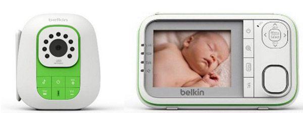 Belkin F7C037QM Baby 1000   Digitales Video Babyphone mit Nachtsichtmodus für 59,90€   Update