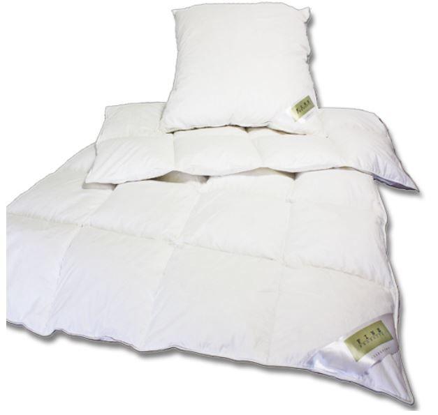 Bettwäsche Julido Winter Bettenset   135 x 200cm und 80 x 80cm mit Daunen und Federn für 34,95€