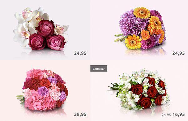 Miflora: 30% Rabatt auf nicht reduzierte Blumensträuße   TOP!