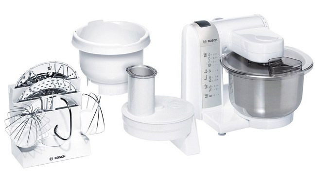 Bosch MUM 4835   Küchenmaschine mit reichlich Zubehör für 99,90€   Update!