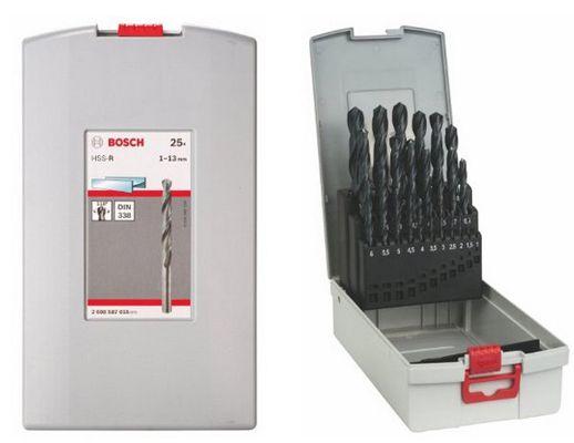 Bosch Metallbohrer Set HSS R ProBox 25 teilig 1 13mm für 19,99€