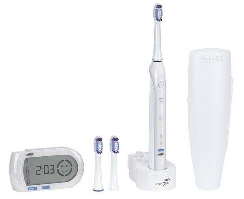 Braun Oral B Pulsonic SmartSeries Elektrische Zahnbürste + SmartGuide für 59,90€
